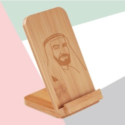 Bamboo Wireless Charger TZ-JU-WCP-3