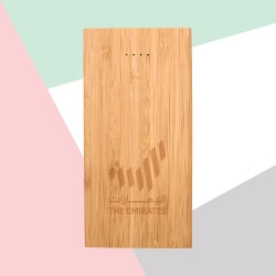 Bamboo Wireless Power Bank TZ-JU-WPB-B8000