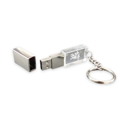 Rectangular Crystal Flash Drive TZ-USB-58