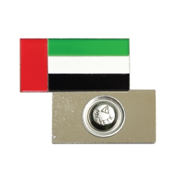 UAE Flag Metal Badges with Magnet TZ-NDB-21