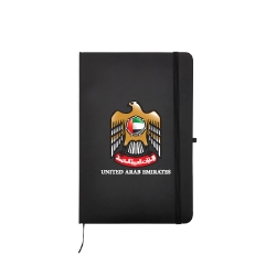 UAE Falcon A5 Size PU Leather Notebook TZ-MB-05-BK