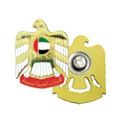 UAE Falcon 3D Metal Badges with Magnet TZ-2100