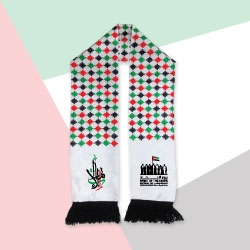 UAE Flag Knitted Scarf TZ-SC-01