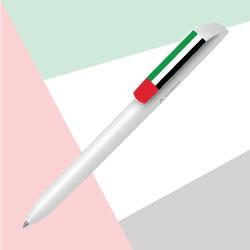 UAE Flag Recycled Flow Pure Pen TZ-MAX-F2P-MATT-CB-RE