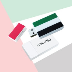 UAE Flag Silicone Flash Drive TZ-NDP-09