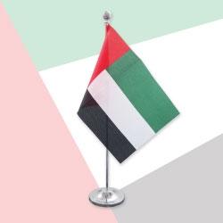 UAE Flag Table Stand TZ-UAE-FS
