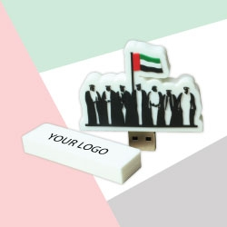 UAE National Day Logo Customised Flash Drive TZ-NDP-02