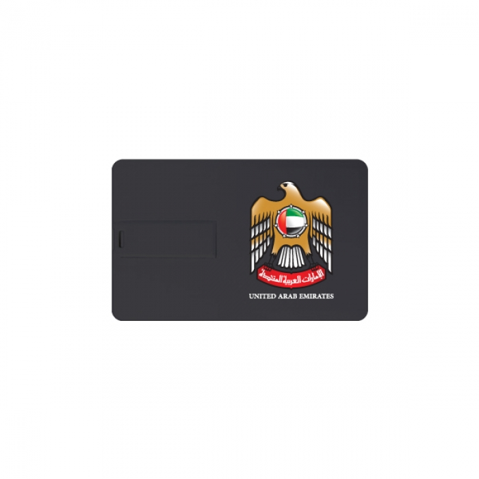 UAE-Falcon-Card-Shape-Flash-Drive-TZ-USB-11-BK