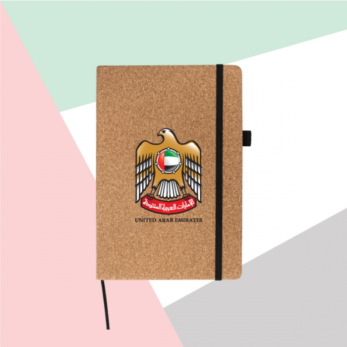 UAE-Falcon-Size-Cork-Cover-Notebook-TZ-MB-05-C-1