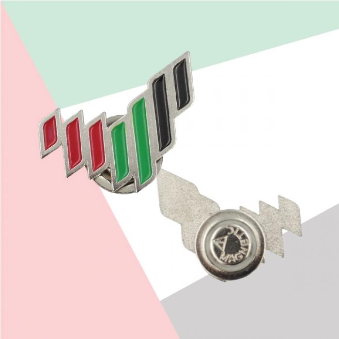 UAE National Brand Metal Badges TZ-NDB-19-S