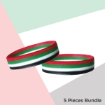 Silicone-Wristband-with-UAE-Flag-Colors-TZ-NDP-05