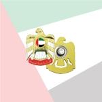 UAE Falcon 3D Badge TZ-2100-2