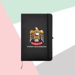 UAE-Falcon-A5-Size-Black-PU-Leather-Notebook-TZ-MB-05-BK