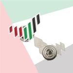 UAE National Brand Metal Badges TZ-NDB-19-W