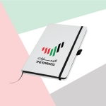 White-Cover-A5-Size-PU-Notebook-with-Emirates-Logo-TZ-MB-05-WW-1