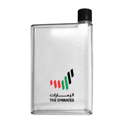A5 Memo Water Bottle with Emirates Logo TZ-TM-003-CL