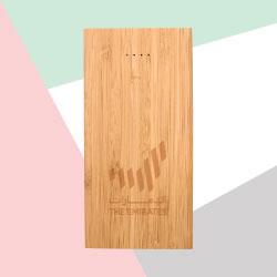Bamboo Wireless Power Bank TZ-JU-WPB-B8000