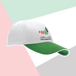 Emirates Logo Soft Mesh Green Cap TZ-CAP-M-02