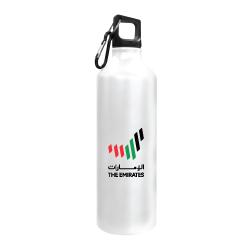 White Sports Bottle with Emirates Logo  TZ-140-W