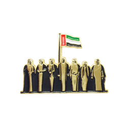Spirit of the Union Metal Badges Gold TZ-NDB-07G