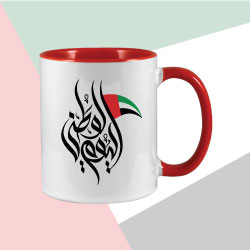 Two Tone Sublimation Mug with The Day of the Union Printing