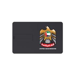 UAE Falcon Card Shape Flash-Drive TZ-USB-11-BK