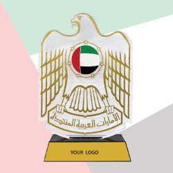 UAE Falcon Crystal  Trophy TZ-CR-10