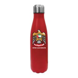 UAE Falcon Logo Red Travel Bottle TZ-TM-009-R