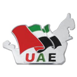 UAE Map Shape Flag Badges TZ-NDB-17