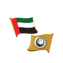 UAE Flag Metal Badges TZ-2092-WM