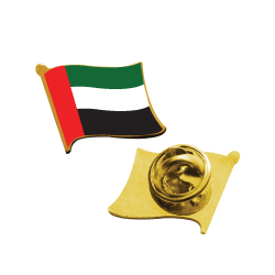 UAE Flag Badges with Pin TZ-2092-WP