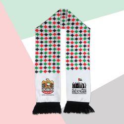 UAE Flag Knitted Scarf TZ-SC-01-6