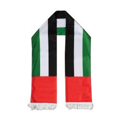 UAE Flag Satin Scarf TZ-SC-05