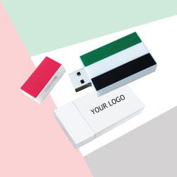 UAE Flag Silicone Flash Drive TZ-NDP-09