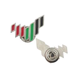 Emirates Logo Metal Badges Silver TZ-NDB-19-S