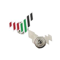 Emirates Logo Metal Badges White TZ-NDB-19-W