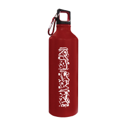 Red Sports Bottle with UAE Printing TZ-140-R