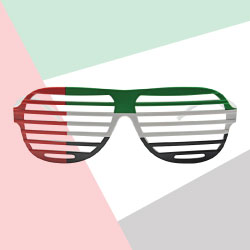 UAE Themed Sunglasses TZ-SG-UAE