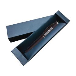 United Arab Emirates Rubberized Black Metal Pen TZ-PN27-BK
