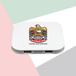 Wireless Charger Pad with UAE Falcon Logo